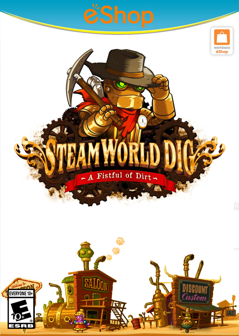 SteamWorld Dig WiiU coverHQ2 (ADGE)