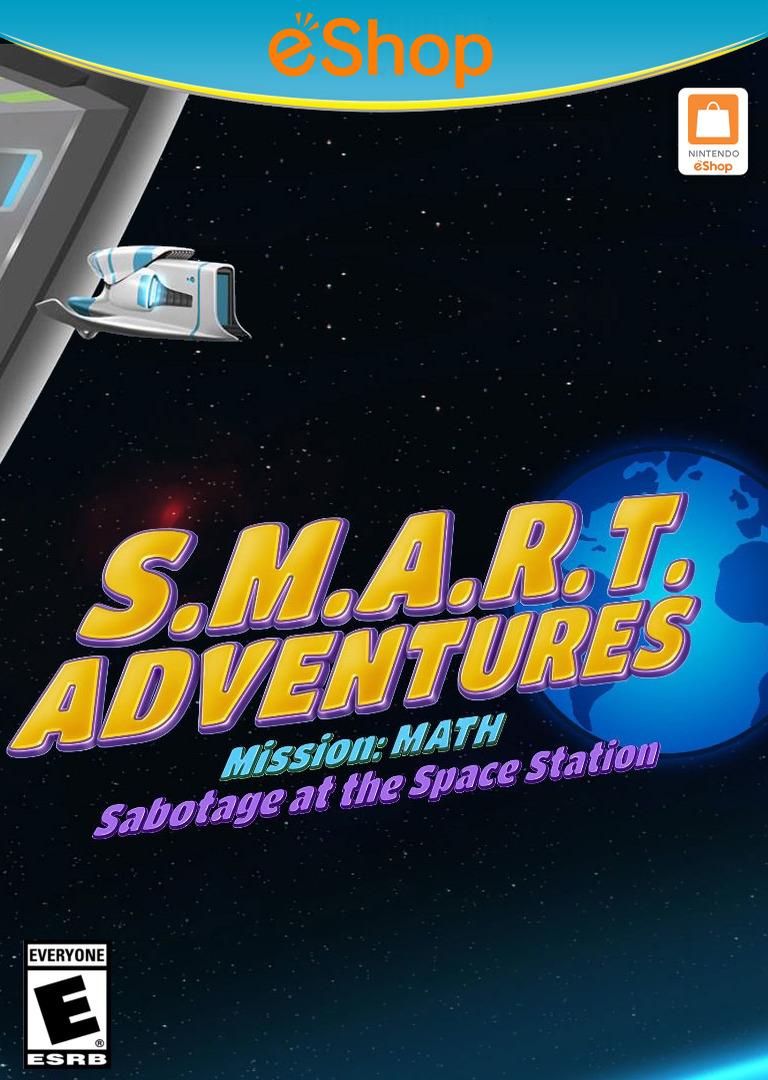 SMART Adventures Mission Math: Sabotage at the Space Station WiiU coverHQ2 (ADME)