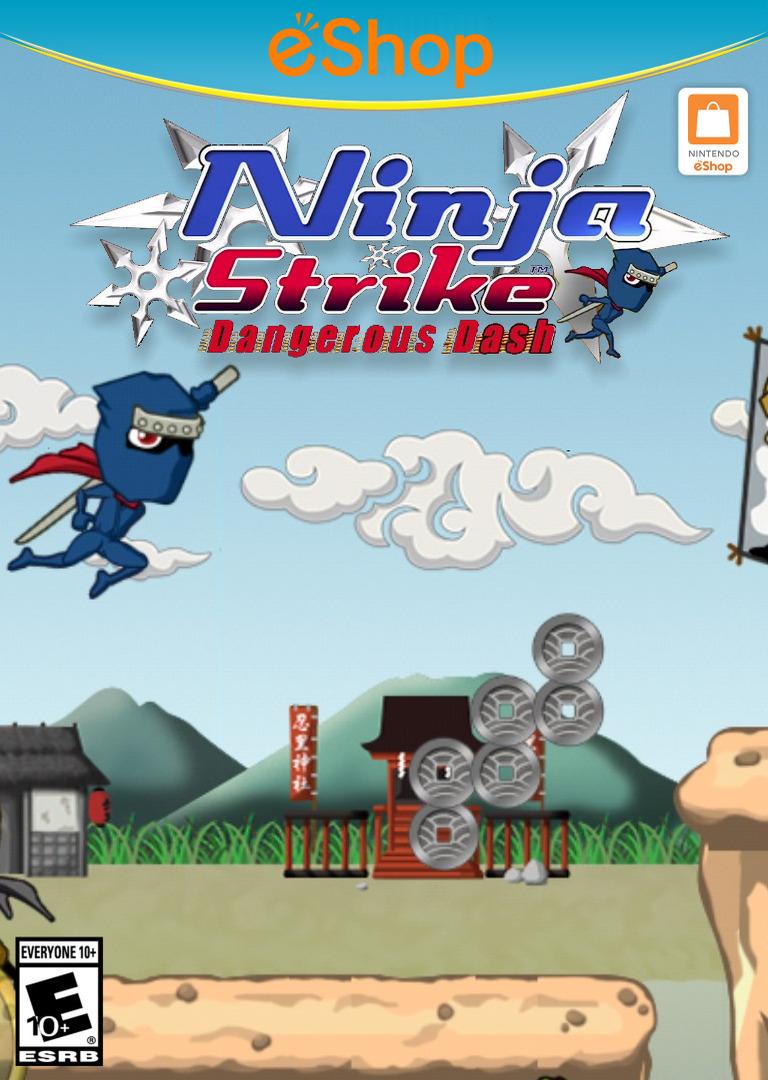 Ninja Strike: Dangerous Dash WiiU coverHQ2 (ANJE)