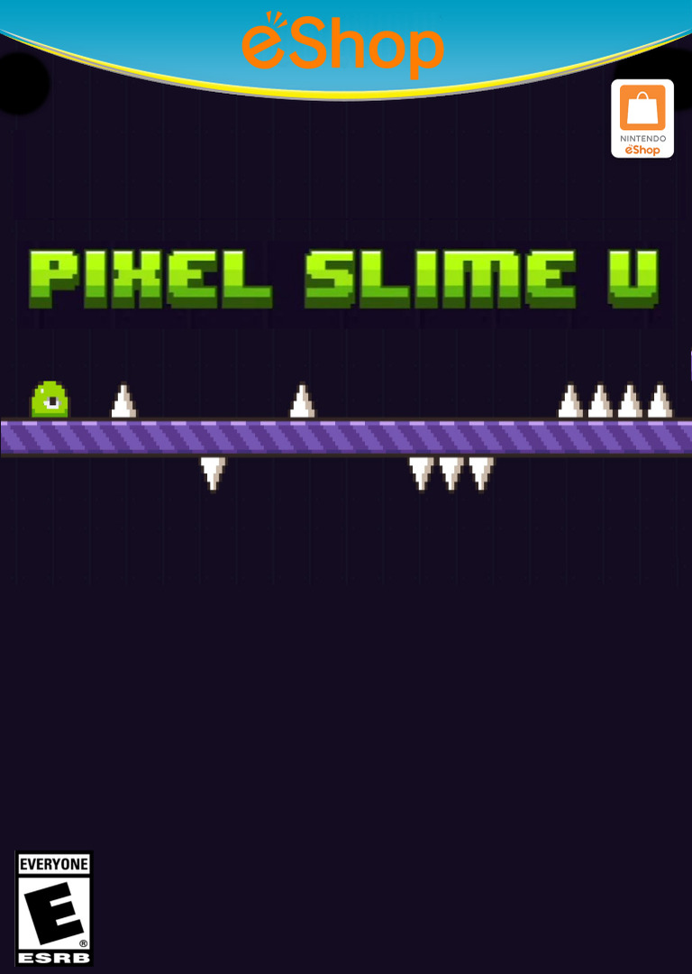 PIXEL SLIME U WiiU coverHQ2 (AUPE)