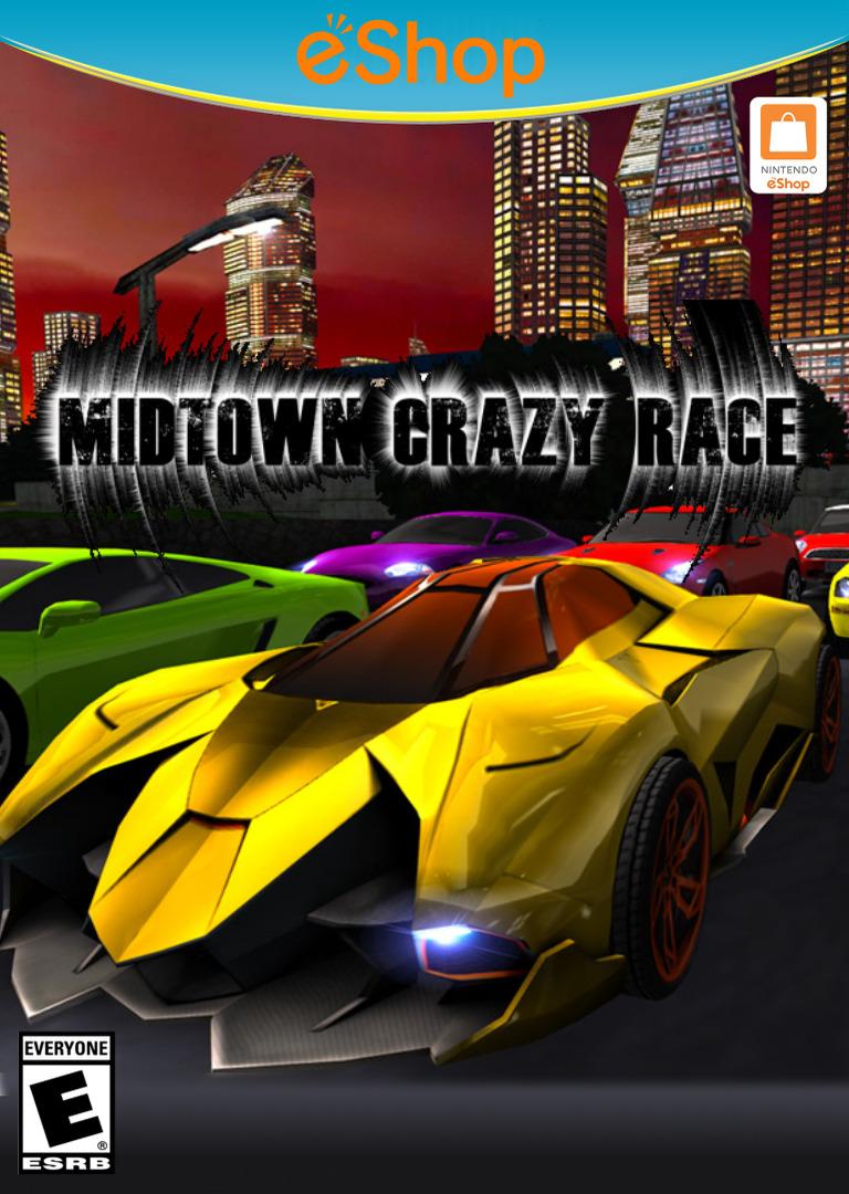 Midtown Crazy Race WiiU coverHQ2 (BCRE)