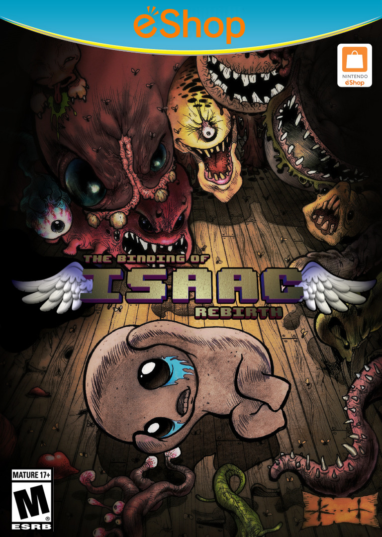 The Binding of Isaac: Rebirth WiiU coverHQ2 (BRXE)