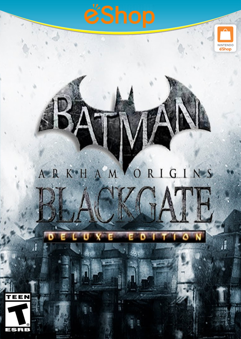 Batman: Arkham Origins Blackgate - Deluxe Edition WiiU coverHQ2 (WBME)