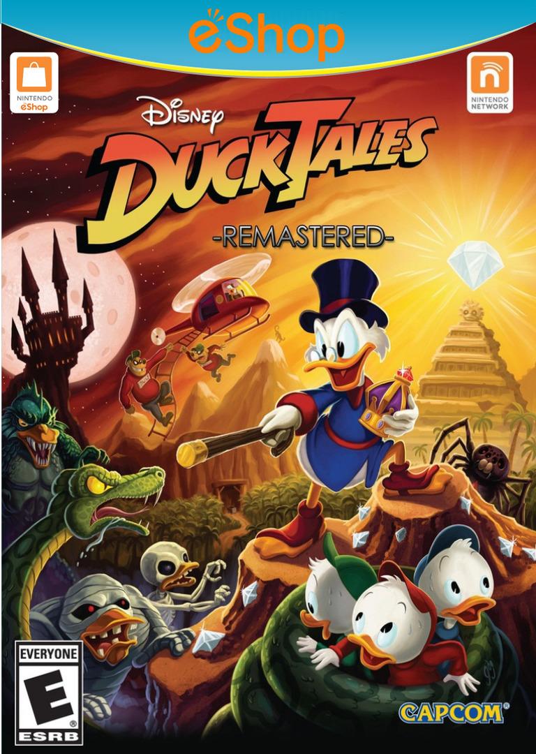 DuckTales: Remastered WiiU coverHQ2 (WDKE)
