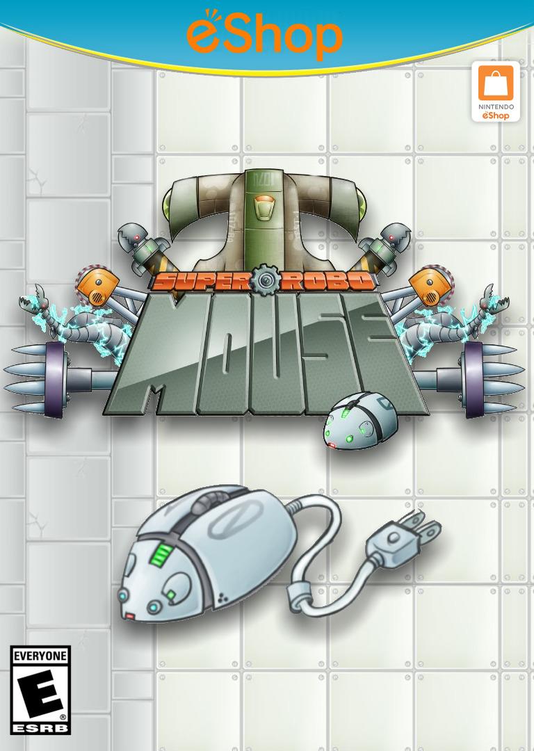 SUPER ROBO MOUSE WiiU coverHQ2 (WMWE)