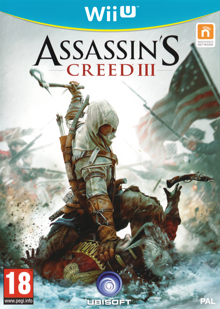 Assassin's Creed III WiiU coverHQB (ASSP41)