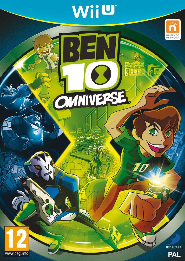 Ben 10: Omniverse WiiU coverHQB (ABEPAF)