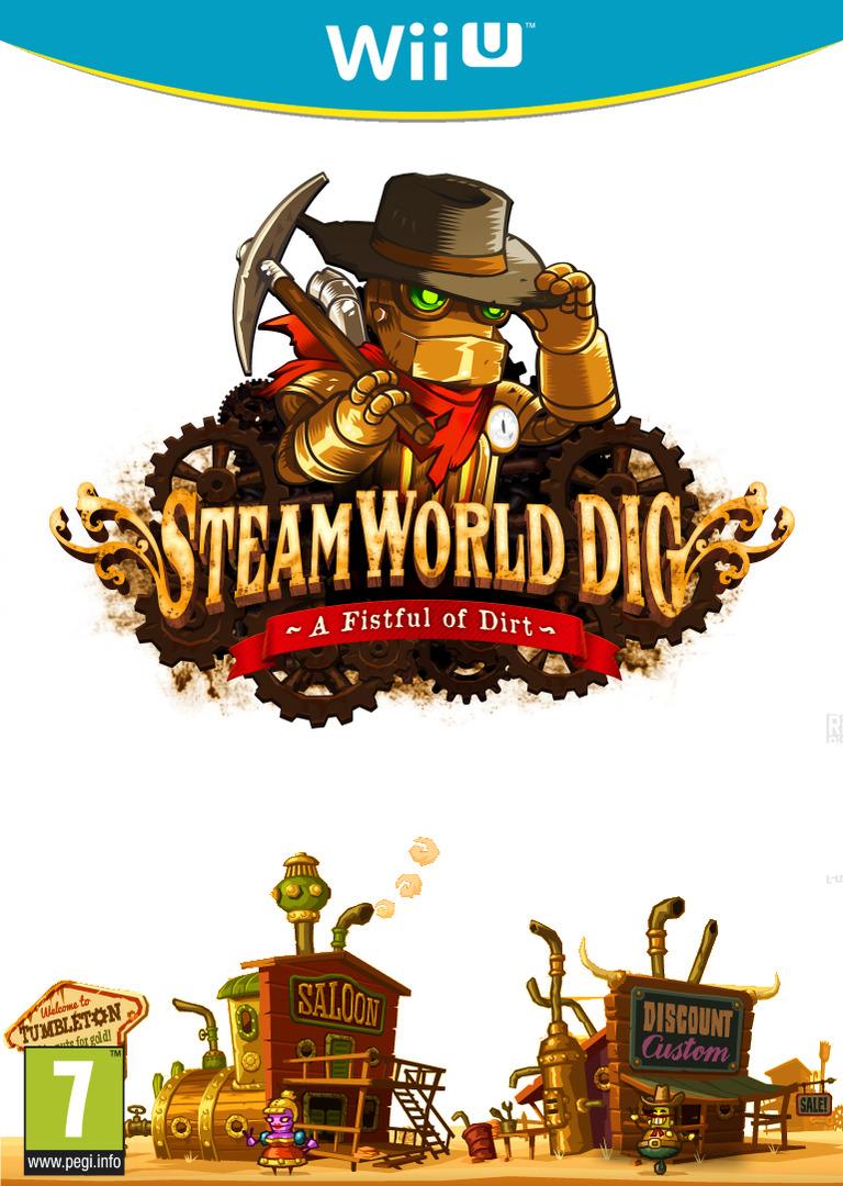 SteamWorld Dig WiiU coverHQB (ADGP)