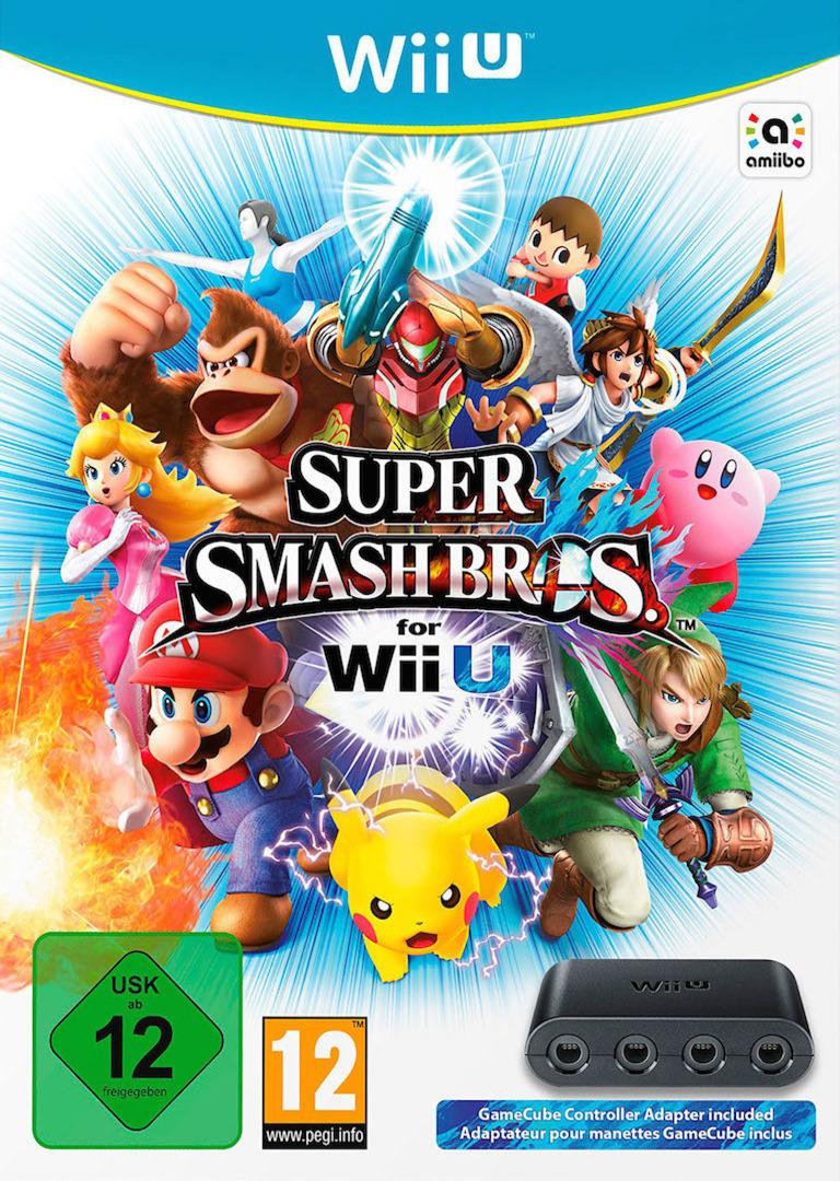Super Smash Bros. for Wii U WiiU coverHQB (AXFP01)