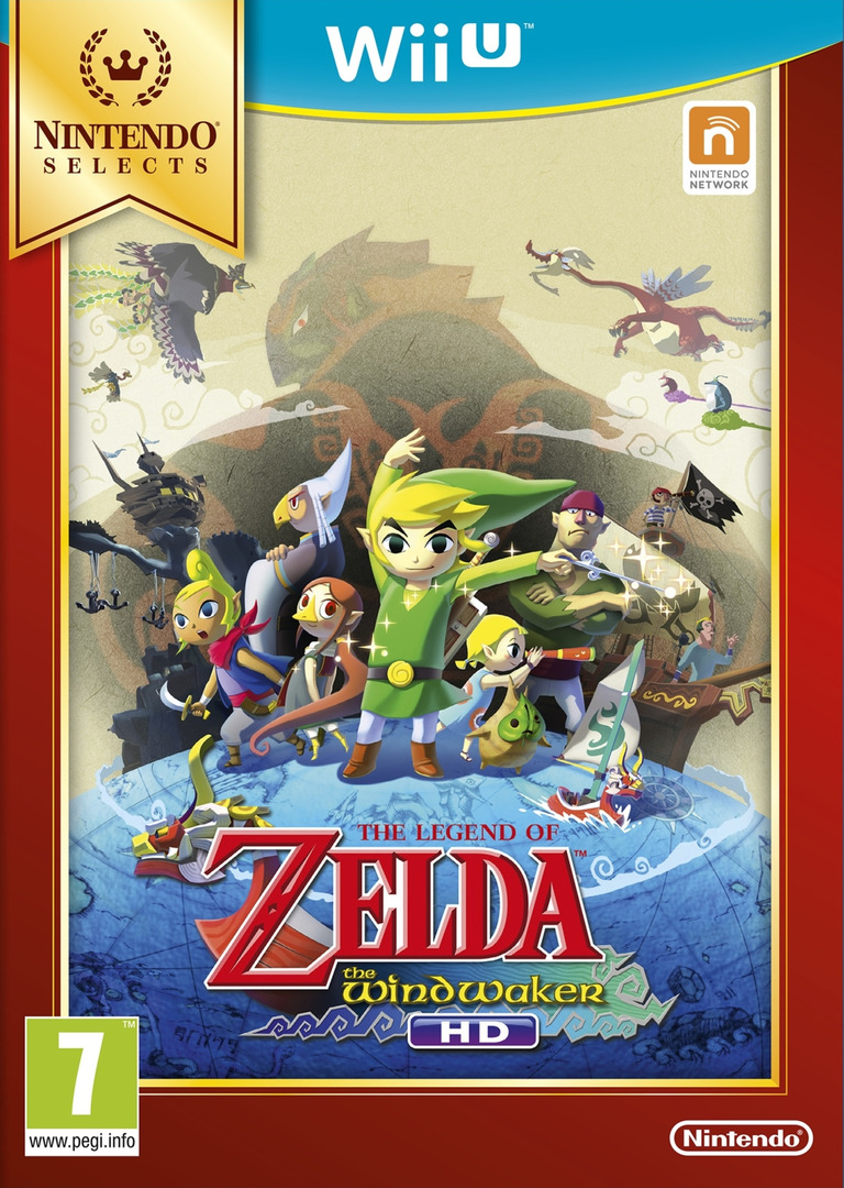 The Legend of Zelda: The Wind Waker HD WiiU coverHQB (BCZP01)