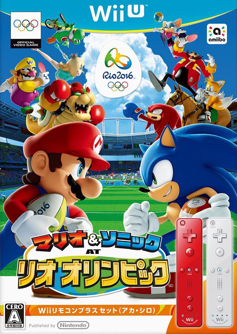 マリオ&ソニック AT リオオリンピック WiiU coverHQB (ABJJ01)
