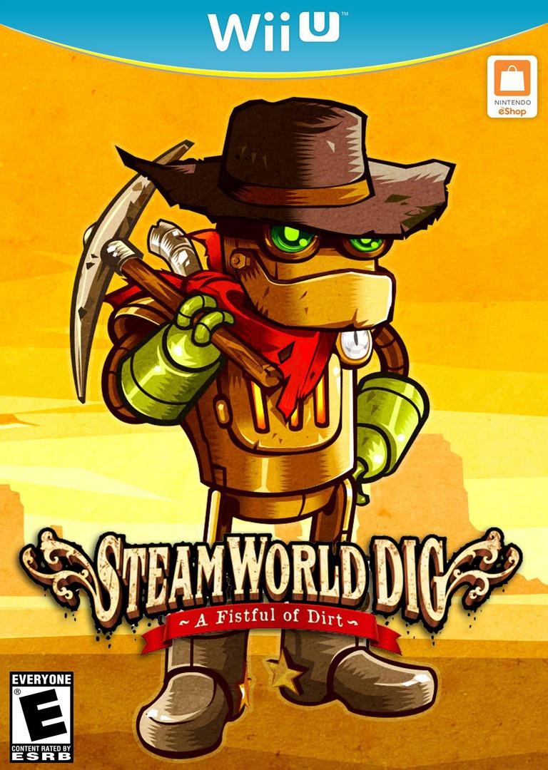 SteamWorld Dig WiiU coverHQB (ADGE)