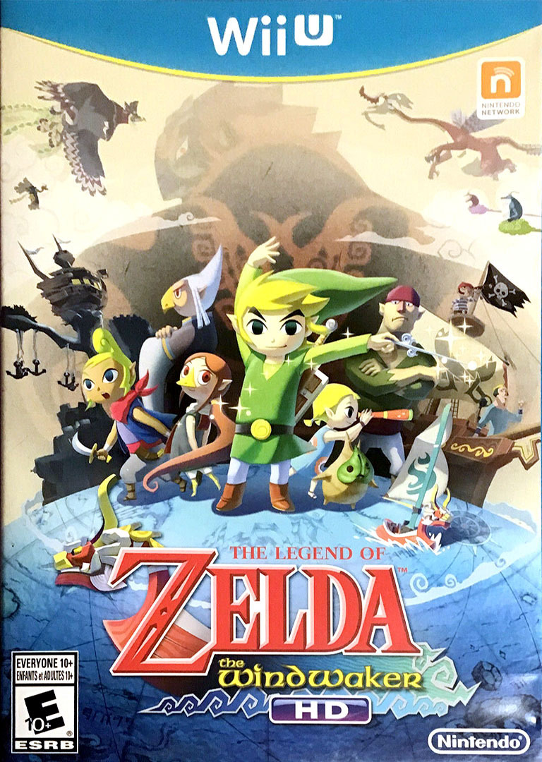 The Legend of Zelda: The Wind Waker HD WiiU coverHQB (BCZE01)