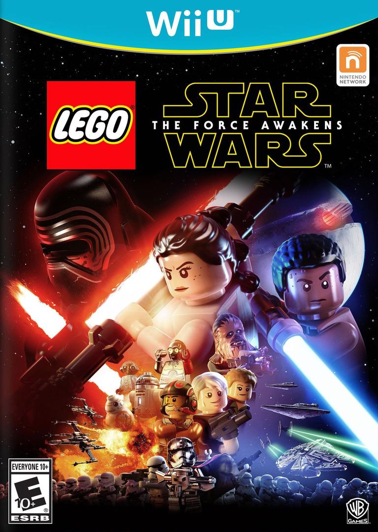 LEGO Star Wars: The Force Awakens WiiU coverHQB (BLGEWR)