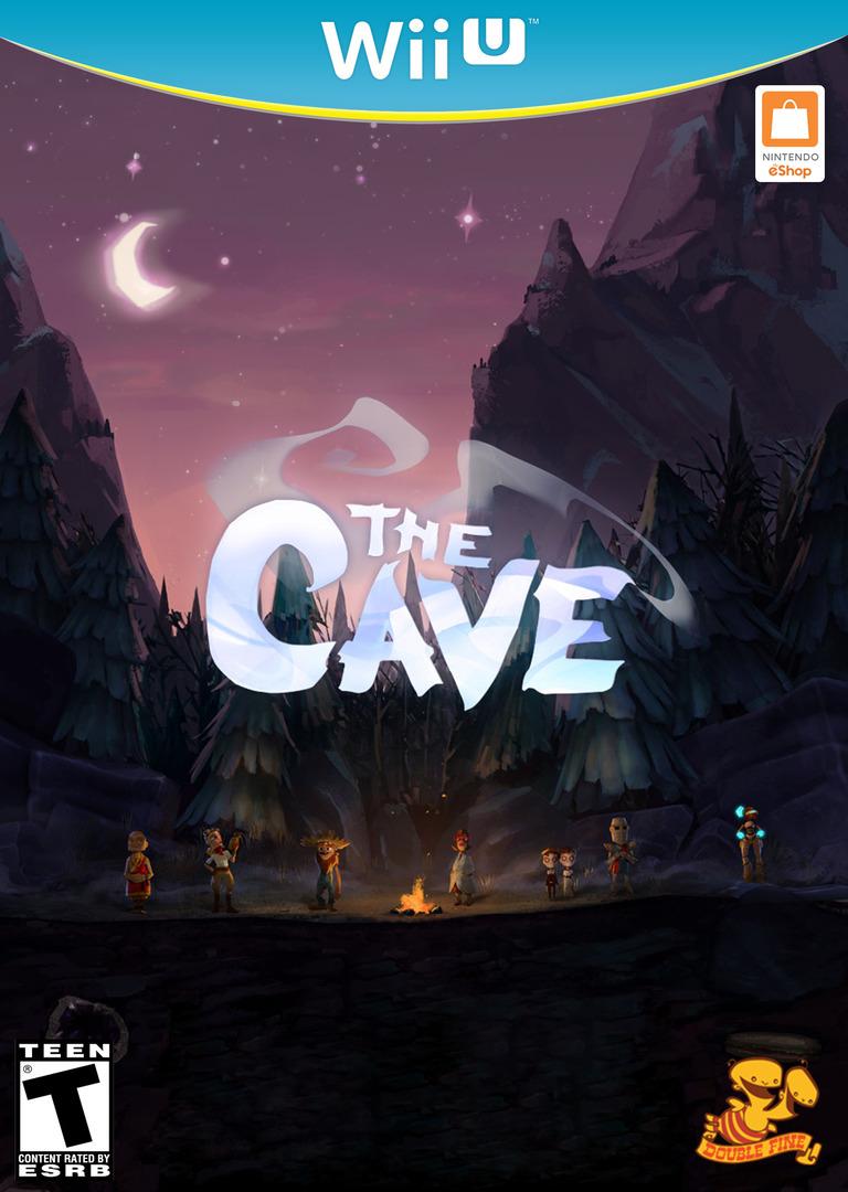 The Cave WiiU coverHQB (WCVE)