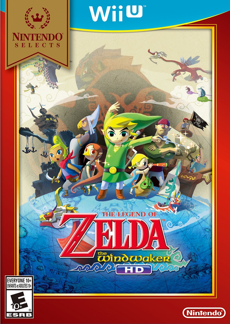 The Legend of Zelda: The Wind Waker HD WiiU coverHQB2 (BCZE01)