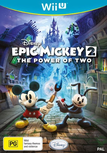 Disney Epic Mickey 2: The Power of Two WiiU coverM (AEMS4Q)