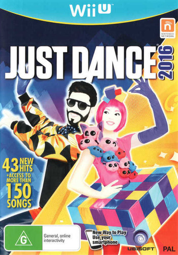 Just Dance 2016 WiiU coverM (AJ6P41)