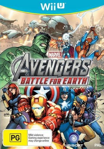 Marvel Avengers: Battle for Earth WiiU coverM (AMVP41)