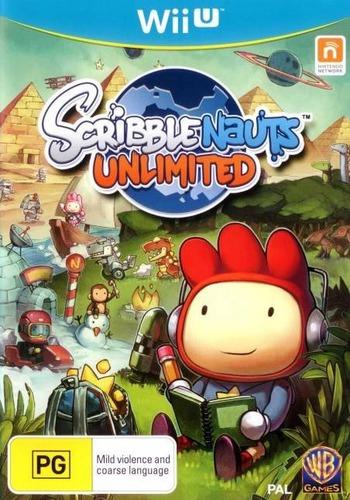 Scribblenauts Unlimited WiiU coverM (ASCP01)