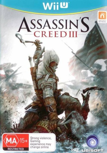Assassin's Creed III WiiU coverM (ASSP41)