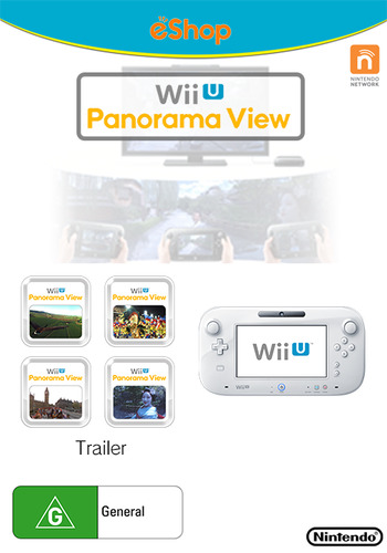 Wii U Panorama View: Trailer WiiU coverM (SPGP)