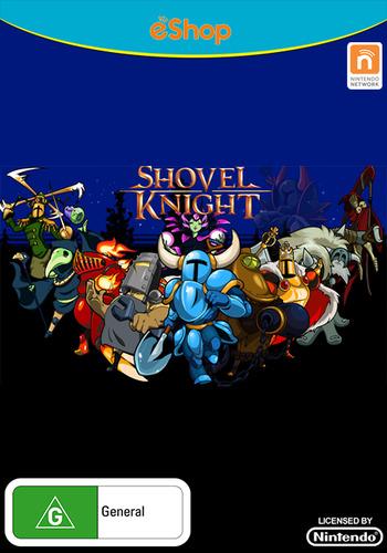 Shovel Knight WiiU coverM (WKNP)