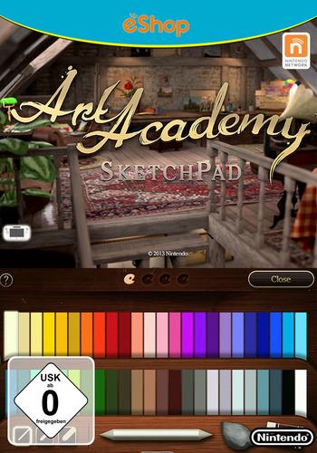 Art Academy: SketchPad WiiU coverM (AA9P)
