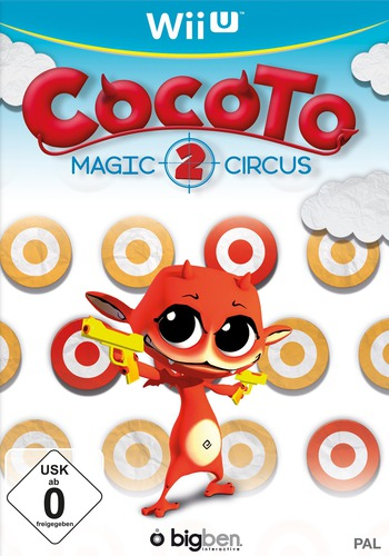 Cocoto Magic Circus 2 WiiU coverM (ACCPNK)