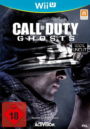 Call of Duty: Ghosts WiiU coverM (ACPP52)