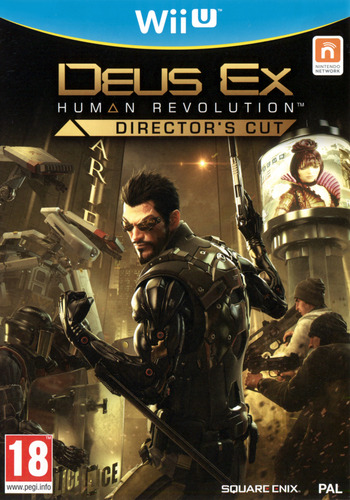 Deus Ex: Human Revolution – Director's Cut WiiU coverM (ADXPGD)