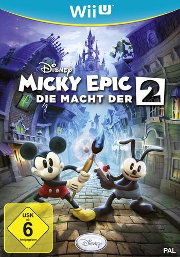 Disney Micky Epic: Die macht der 2 WiiU coverM (AEMP4Q)