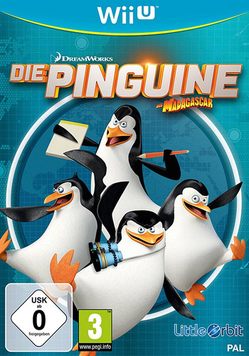 Die Pinguine aus Madagascar WiiU coverM (APGPVZ)