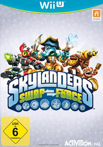 Skylanders: Swap Force WiiU coverM (ASFP52)