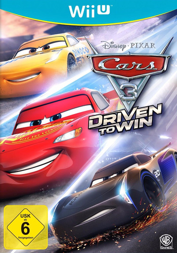 Cars 3: Driven to Win WiiU coverM (BA4PWR)