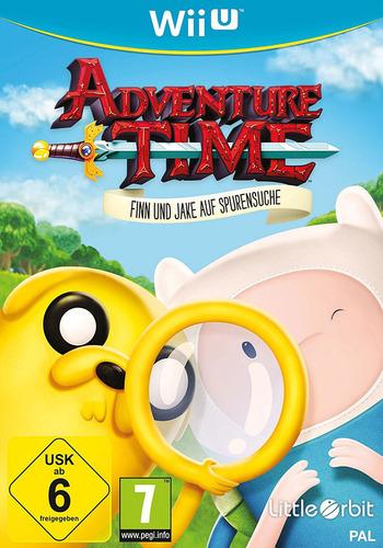 Adventure Time: Finn und Jake auf Spurensuche WiiU coverM (BFNPVZ)