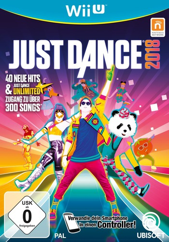Just Dance 2018 WiiU coverM (BJ8P41)