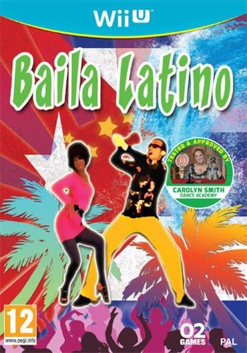 Baila Latino WiiU coverM (ABLPYF)