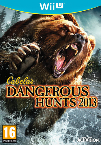 Cabela's Dangerous Hunts 2013 WiiU coverM (ACAP52)