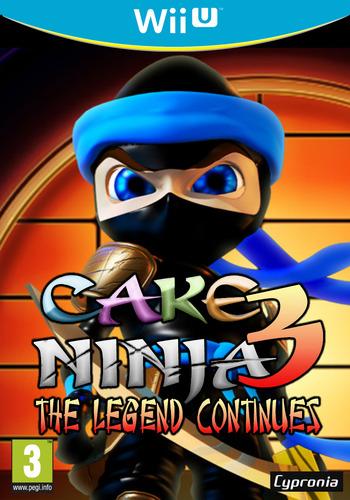 Cake Ninja 3: The Legend Continues WiiU coverM (ACNP)