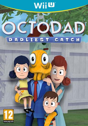 Octodad: Dadliest Catch WiiU coverM (AD5P)