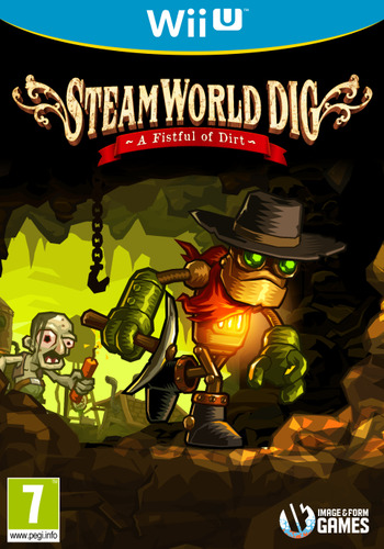 SteamWorld Dig WiiU coverM (ADGP)