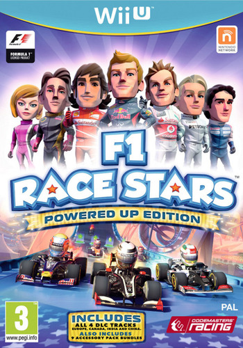 F1 Race Stars: Powered Up Edition WiiU coverM (AF9P)