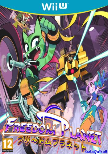 Freedom Planet WiiU coverM (AFEP)