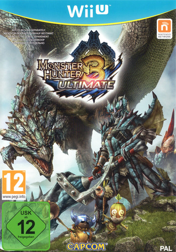 Monster Hunter 3 Ultimate WiiU coverM (AHDP08)