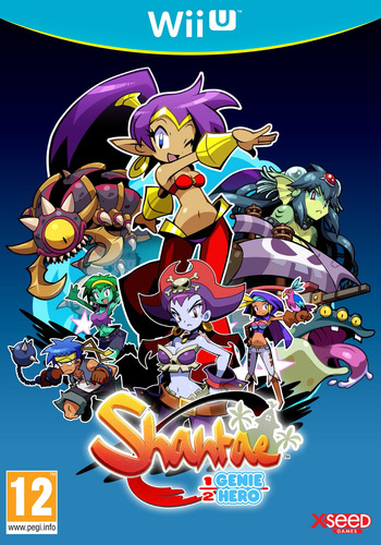 Shantae Half-Genie Hero WiiU coverM (AHFP)