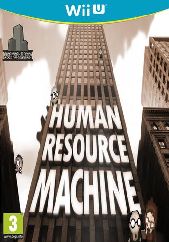 Human Resource Machine WiiU coverM (AHMP)