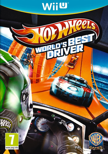 Hot Wheels: World's Best Driver WiiU coverM (AHWPWR)