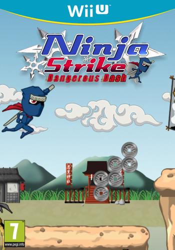 Ninja Strike: Dangerous Dash WiiU coverM (ANJP)