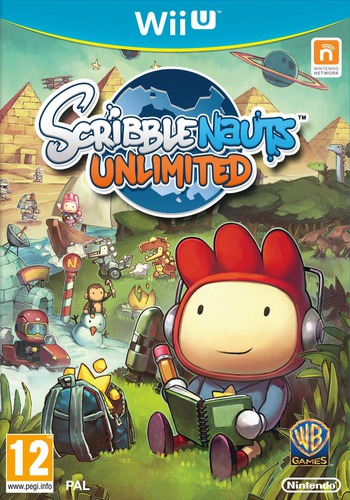 Scribblenauts Unlimited WiiU coverM (ASCP01)